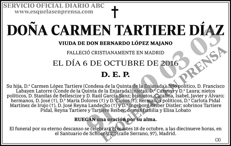 Carmen Tartiere Díaz